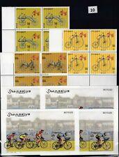 NS 4X SOMALIA 2000 - MNH - BICYCLES - SPORT - TRANSPORT - WHOLESALE