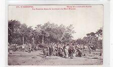 LA SOUREE DANS LE TORRENT DU DIRE-DAOUA: Ethiopia postcard (C26856)