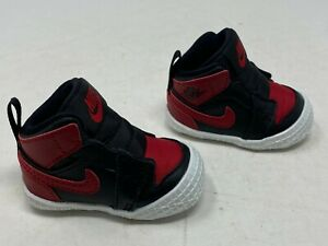 "Nike Air Jordan 1 Crib Bootie ""BRED"" AT3745-023 Size 2C"