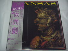 KANSAS-Masque JAPAN 1st.Press PROMO w/OBI Rush Yes Dream Theater Journey Boston