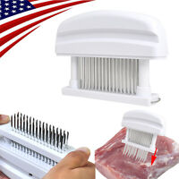 Detachable Meat Tenderizer 48 Blade Stainless Steel Needle Prongs Kitchen Tool