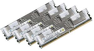 4x 4GB 16GB RAM HP Workstation xw6400 667Mhz FB DIMM DDR2 Speicher FullyBuffered