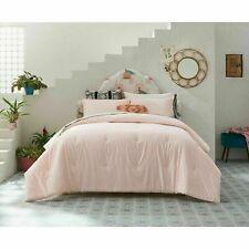 "2pc OPALHOUSE Lazarus Cotton Comforter Set Blush TWIN XL  68""x92"""