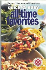 Better Homes & Gardens QUICK & EASY All-Time FAVORITES Cookbook Collection 1