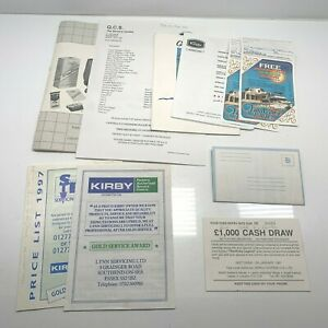 Instruction manual & Paperwork for Kirby Legend 2 & Heritage Vacuum Cleaner