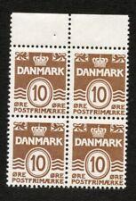 Denmark Stamps # 229A VF OG NH Booklet Pane