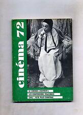 CINÈMA 72-Le Guide Du Spectateur N. 143#Federation Francaise des Cinè Clubs 1970