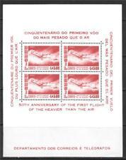 BRAZIL 1956 SANTOS-DUMONT'S 1906 PLANE SC # C86A MNH
