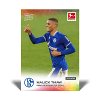 2020 2021 card #34 Topps Now Bundesliga - - MALICK THIAW RC - - FC SCHALKE