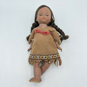"""Madame Alexander American """"Indian"""" Girl With Baby - Native American TLC"""
