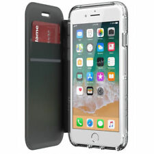 Griffin Survivor Clear Wallet Case for iPhone 8 / 7 / 6 / 6s - Black / Clear
