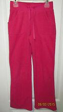 Youth Girls Large 10-12 Green Soda Pink Casual Lounge Sweat Pants Fleece