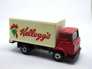 Figurine Car 1992 Matchbox Nº 72 Dodge Commando Truck KELLOGG'S 1:64
