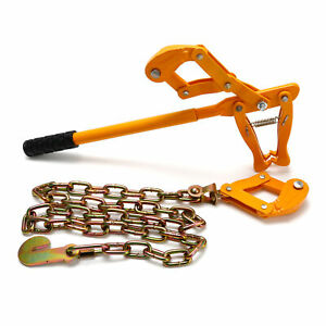 """53"""" Farm Fence Stretcher Chain Strainer Fencing Barbed Wire Repair Tensioner"""