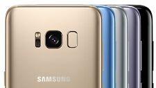 Neu Ungeöffnet Samsung S8 G950 SMARTPHONE/Mitternachtsschwarz/64GB