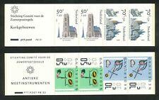 Nederland boekjes 31 en 32 postfris