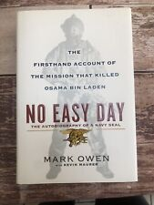 No Easy Day by Mark Owen (2012, Hardcover)