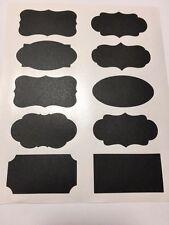 20pcs Chalkboard Blackboard Chalk Board Stickers Jar Labels + Liquid Chalk Pen