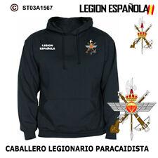 SUDADERAS CON CAPUCHA: LEGION ESPAÑOLA / CABALLERO LEGIONARIO PARACAIDISTA M3
