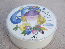 "Villeroy & Boch Porcelain Mercier ""Masquerade"" Powder, Jewelry, or Trinket Box"