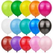 "12"" LATEX PARTY BALLOONS - Helium / Air - Birthday,  Wedding, Christening"
