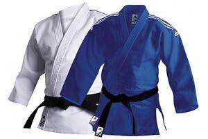 Adidas Training Judo Suit Adult 500g Judoka Uniform Mens Women Kids Judo Gi