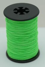 Flo. Green BCY Powergrip Serving Thread Jig Spool Bow String Bowstrings, .014""