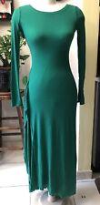 BCBGmaxazria Ultra Green Long Sleeve Skinny Style Women Long Dress Size  XSmall