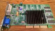 nVidia P162 AGP Video Graphics Card VGA DVI S-Video GX CN-08Y485