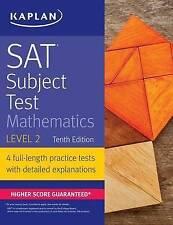 SAT Subject Test Mathematics Level 2 (Kaplan Test Prep), New,  Book