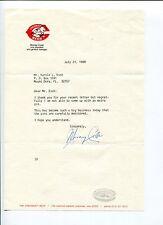 Murray Cook Cincinnati Reds NY New York Yankees General Manager Signed TSL