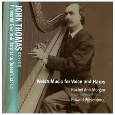 Welsh Music for Voice & Harp, New Music