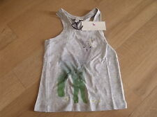 BNWT Girls Designer STELLA McCARTNEY Grey Vest Style T-Shirt  age 5-6 years-FAB