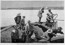 Frederic Remington Chinese Coolies Loading A Steamer At Havana Cuba Chinamen