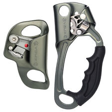 UIAA CE Chest and Hand Ascender Combo for Rock Tree Climbing Rope Ascension Gear