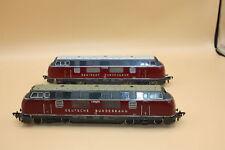2x Fleischmann Diesellok BR V 200 035 DB, HO geprüft   #Pumm#