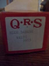 QRS~PLAYER PIANO ROLLS~WORD ROLL~ BLUE DANUBE WALTZ- 5955