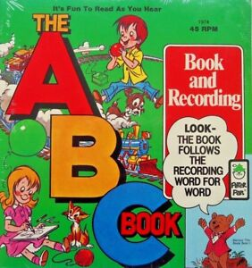THE ABC BOOK 1974 Peter Pan Read Along Book Record Set New Mint SEALED