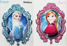 HUGE **ANNA ELSA** Frozen 2-Sided Mylar Jumbo Balloon Birthday Party Supplies