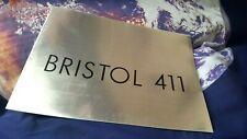 Bristol 411 Sales Brochure - ENGLISH LANG