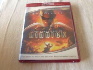 The Chronicles of Riddick HD DVD Region Free Vin Diesel, Colm Feore