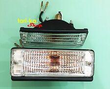 Front Bumper Turn Signal Light For 79-87 Toyota Corolla KE70 KE75 TE71 TE72 CE70
