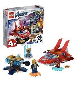 LEGO Marvel Avengers Iron Man Vs Thanos Building Set 76170