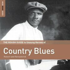 Rough Guide to Country Blues - NEW SEALED LP w/ download card +bonus tracks