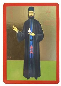 SAINT EPHRAIM, THE NEW MONK-MARTYR OF MOUNT AMOMON-Greek Byzantine Orthodox Icon