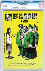Weirdom Comix #14, CGC 9.6, Richard Corben, Underground, HAIGHT ASHBURY PEDIGREE