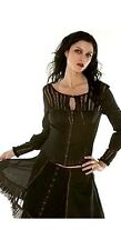 NEW Lip Service LS Romantic Victorian Steampunk Top Blouse Gothic XS/P