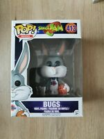 Funko Pop Bugs #413 Space Jam Rare Vaulted Vinyl Figure Movies Looney Tunes