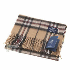 BALLANTRAE 100% LAMBSWOOL SCARF - SOFT & WARM - THOMSON CAMEL