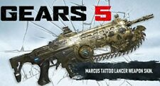 GEARS 5 DLC XBOX ONE GEARS OF WAR 5 DLC MARCUS TATTOO LANCER SKIN,EMAILED